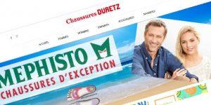 Site Web Chaussures Duretz